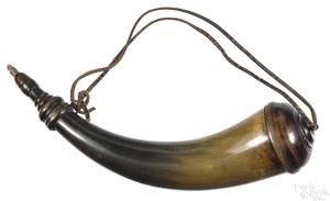 Philadelphia or Berks County, powder horn