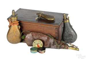 Group of firearm accoutrements
