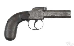 Redfern London bar hammer single shot pistol