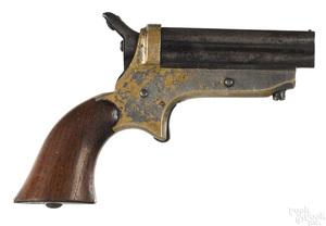 Sharps model 1A four shot pepperbox pistol