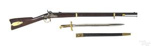 Remington US model 1863 Zouave rifle with bayonet