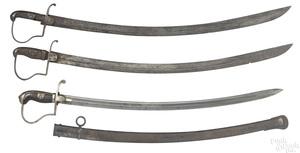 British cavalry sword and scabbard