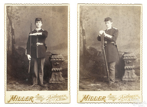 Two Indian Wars CDV's