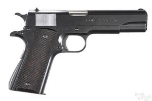 Colt Super 38 semi-automatic pistol
