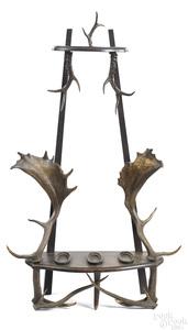 Black Forest gun rack, ca. 1900
