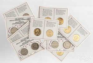 Ten sets of The Official Royal Wedding crown coin