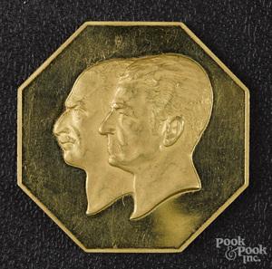 Iran Pahlavi Reign Anniversary gold medal