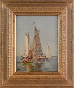Walter Franklin Lansil (American, 1846-1925), oiln