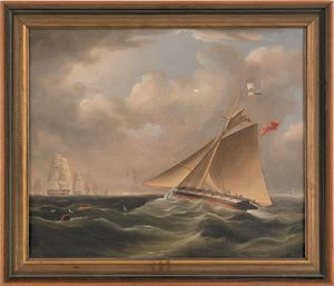 Richard B. Spencer (British, fl. 1840-1870), oil o