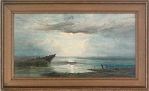 John Faulkner (British/American, 1835-1894), water