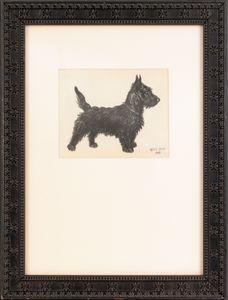 Cecil Aldin (British, 1870-1935), graphite, colore