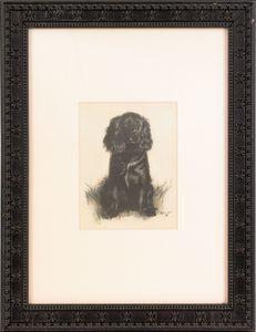 Cecil Aldin (British, 1870-1935), graphite and col