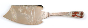 Gorham silver and mixed metal server, ca. 1890, 10