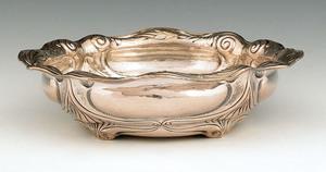 Gorham Martele silver bowl, ca. 1898, retailed byp