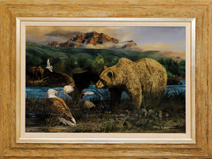 Gary Swanson (American, b. 1941), oil on canvas ti