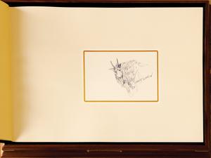Gary Swanson (American, b. 1941), leather bound fo