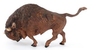 Austrian cold painted bronze bison, mid 20th c., 5