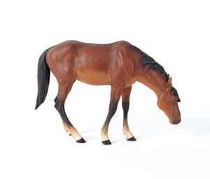 Austrian cold painted bronze horse figure, mid 20t