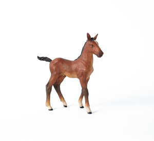 Austrian cold painted bronze filly, mid 20th c., 1