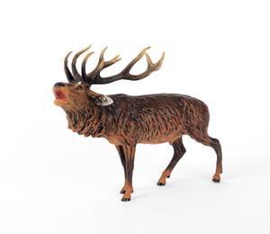 Austrian cold painted bronze elk, mid 20th c., 8 1