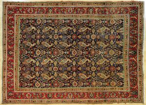 Malayer carpet, 11' x 8' 4