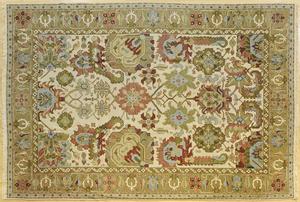 Agra carpet, 13' 9