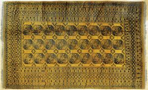 Bohkara carpet, 15' x 10'.