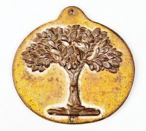 Cast iron green tree fire mark, ca. 1827 for the M