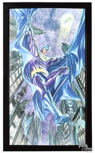 Comic art limited edition giclée print on canvas