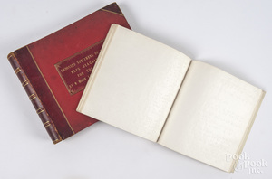 Leather-bound volumes for the blind