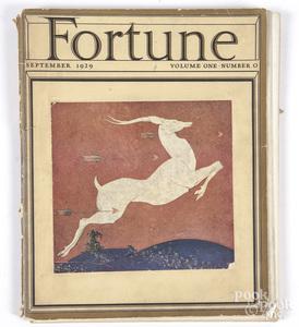 Inaugural issue of Fortune Magazine, Vol. 1 No. 0,