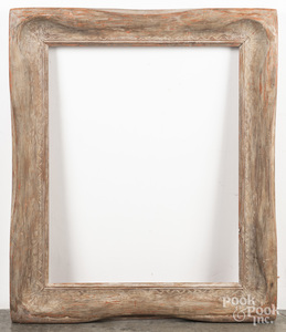 Carved wooden frame by Ben Badura