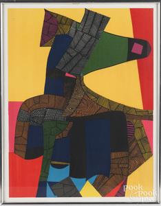 Maurice Esteve color lithograph
