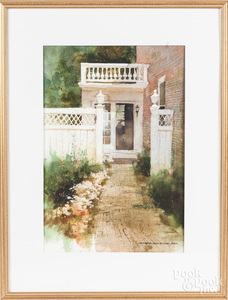 George Shedd (American 1922-2006), watercolor
