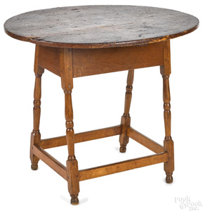 New England William and Mary tavern table