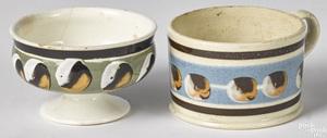 Mocha master salt and small mug