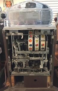 Jennings 10-cent Flamingo light-up slot machine