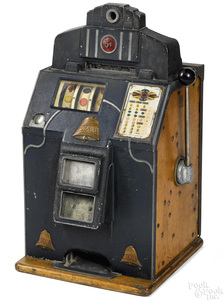 Jennings 5-cent Dixie slot machine