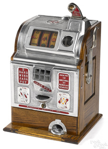 Jennings 25-cent Robert's Novelty slot machine