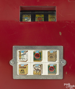 Two 1-cent cigarette trade stimulator slot machines