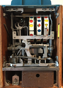 Jennings 50-cent Chief Prosperity slot machine