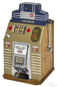 Jennings 10-cent Victory Chief slot machine