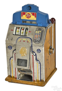 Jennings 1-dollar Silver Chief slot machine
