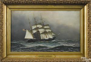 Antonio Jacobsen (American 1850-1921)
