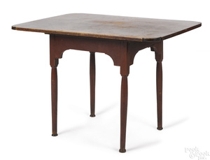 New England painted maple tavern table