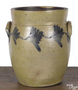 Philadelphia Remmey stoneware crock, 19th c.