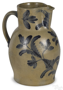 Maryland or Virginia stoneware pitcher, 19th c.