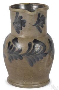 Philadelphia Remmey stoneware pitcher, 19th c.