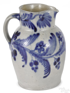 Stoneware pitcher, probably Maryland