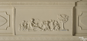 Philadelphia carved pine mantel by Robert Wellford